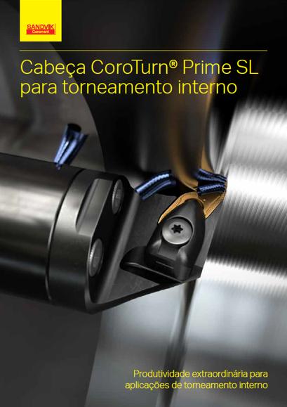 Cabeça CoroTurn Prime SL para torneamento interno