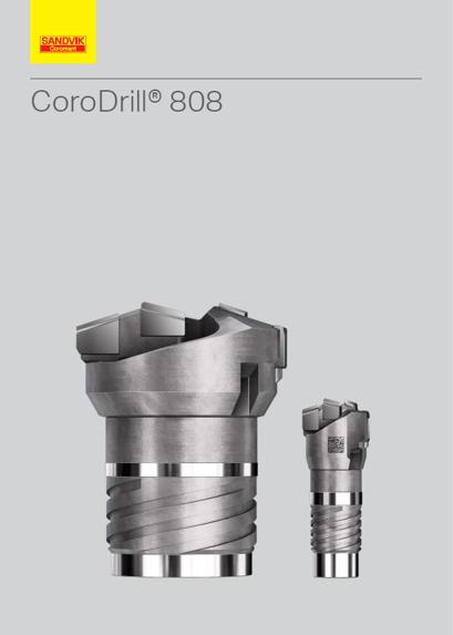 CoroDrill® 808