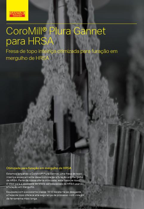 CoroMill Plura Gannet para HRSA