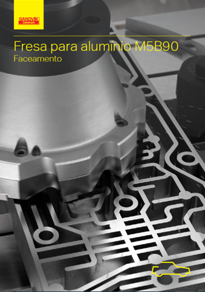 Fresa para alumínio M5B90