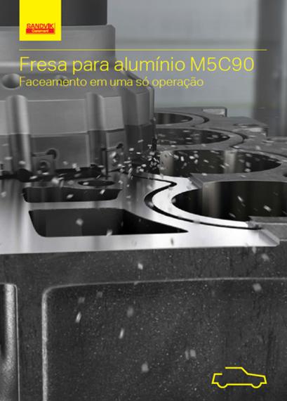 Fresa para alumínio M5C90