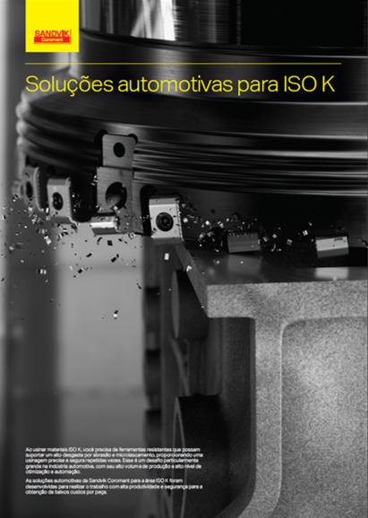 Soluções automotivas para ISO K