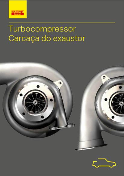 Turbocompressor – Carcaça do exaustor